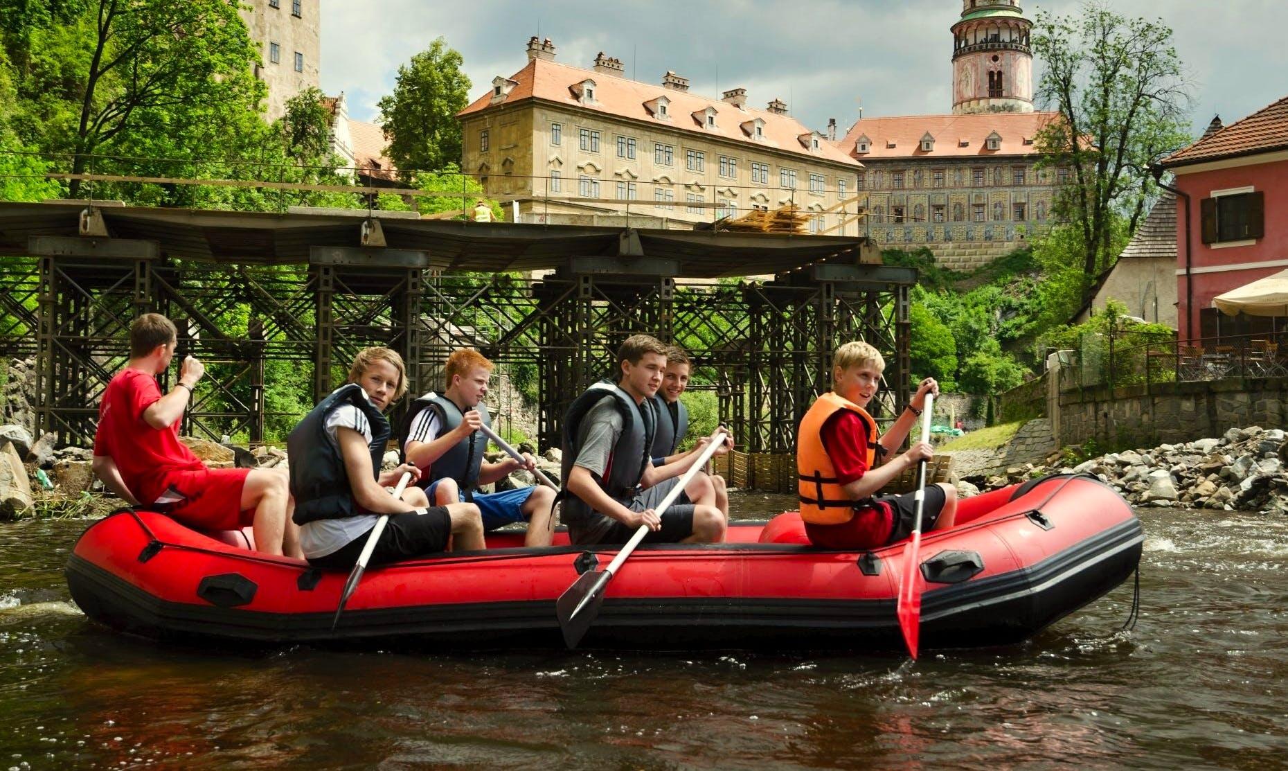 Rafting Trips in Сesky Krumlov, Czech Republic
