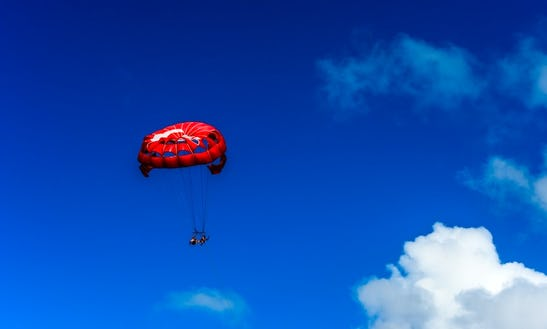 An Amazing Parasailing Experience For 2 People In Collectivity Of Saint Martin, Puerto Rico