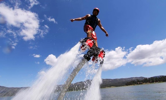 Flyboarding In Avalon, California