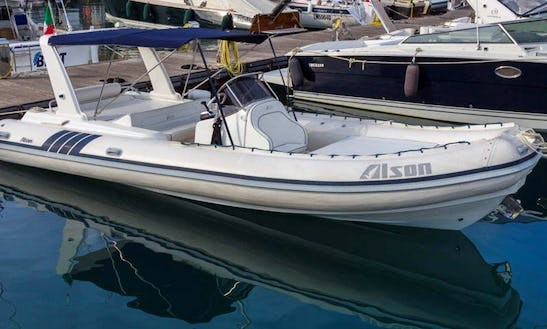 Rib Alson 750 For Rent In Portofino
