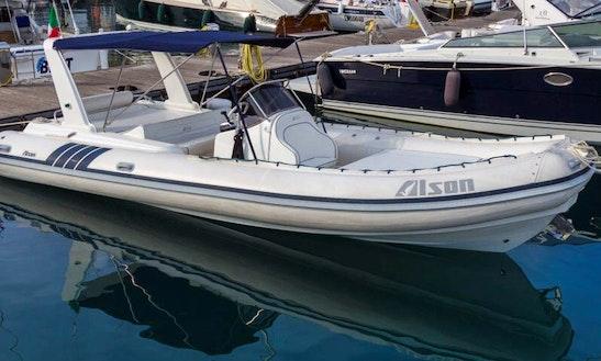Rib Alson 750 For Rent In Portofino