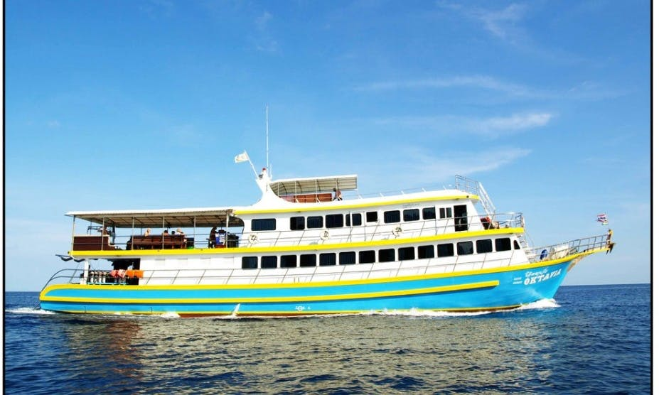 Liveaboard Dive Trips in Similan Islands, Koh Bon, Koh Tachai and Richelieu Rock