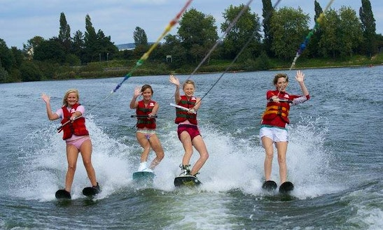 Water Skiing In England