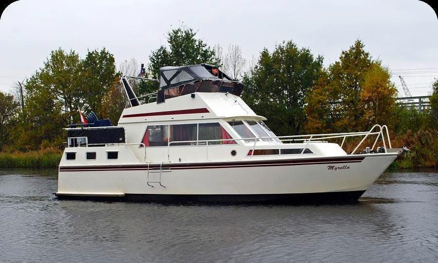 Enjoy Friesland, Netherlands on 41' Myrella Motor Yacht