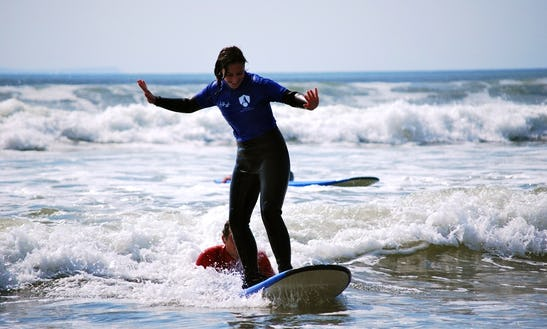 Book A Beginner To Advanced Surf Lessons In Croyde, England