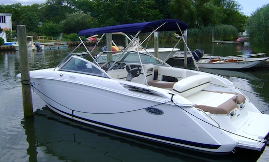 24ft Cobalt Bowrider Boat Rental In Mattituck, New York