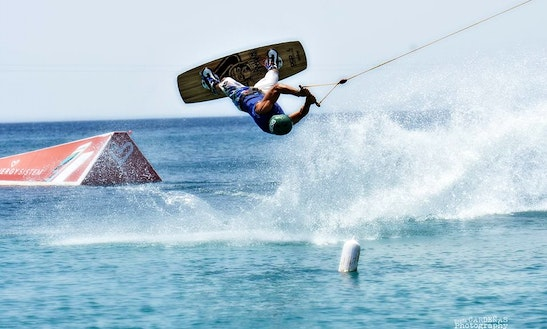 Wakeboarding Lesson With Daniel In Benidorm, Spain