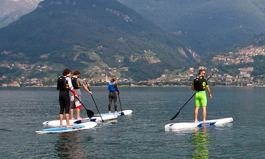 Paddleboard Rental In Colico, Italy