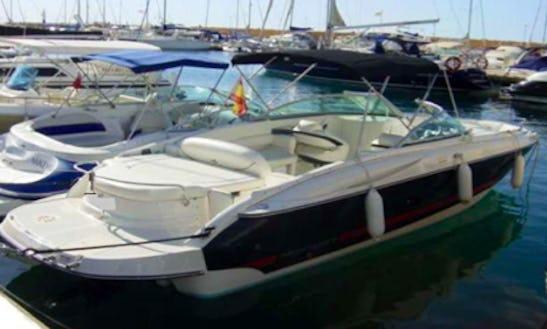 Funcruiser Monterrey Supersport 278ss Deck Boat Rental In Eivissa