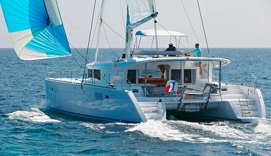 Lagoon 450 Cruising Catamaran Charter From Messina, Italy
