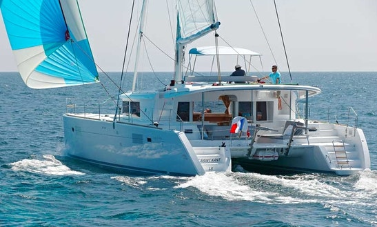 Lagoon 450 Cruising Catamaran Charter From Messina, Italy