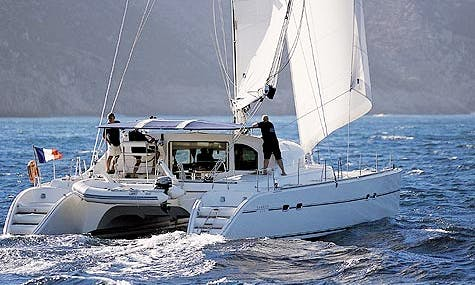 Captained Charter On Lagoon 470 Cruising Catamaran from Messina, Italy