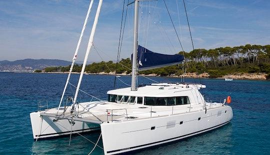 Captained Charter On Lagoon 500 Clima Sailing Catamaran From Messina, Italy