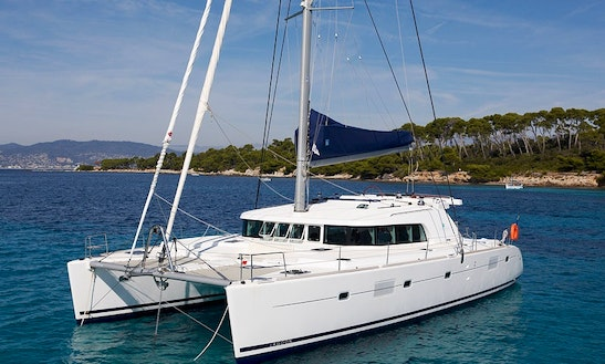 Captained Charter On Lagoon 500 Clima Sailing Catamaran From Messina, Italy