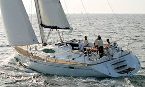 Captained Charter On Sun Odyssey 54 Luxury Sailing Yacht from Messina, Italy