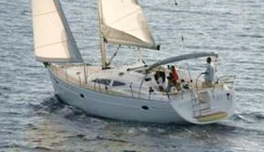 Captained Charter On Elan Impression 434 Sailboat In Messina, Italy