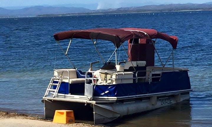 Self Drive Pontoon Hire for Fishing in Benaraby, Australia