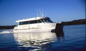 """Power Catamaran """"Saratoga"""" Rental in Wagstaffe"""
