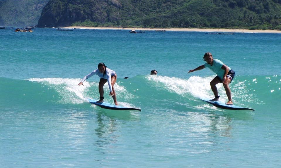 Surf Lessons in Lombok, Indonesia