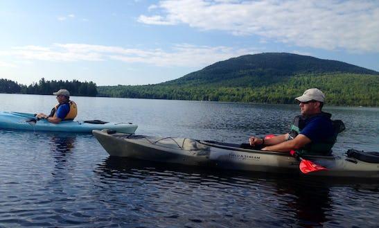 Kayak Rental & Trips In West Forks, Maine