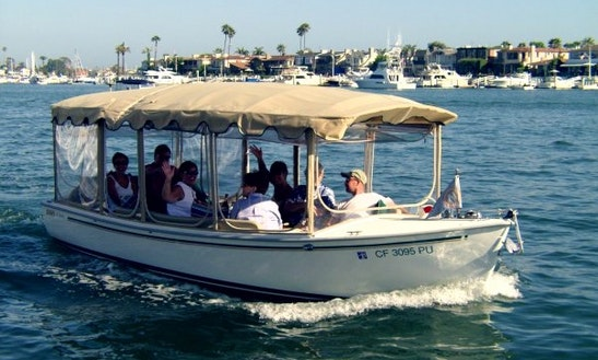 Duffy Electric Boat Rental In Newport Beach