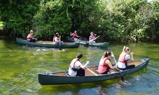 Enjoy Canoe Hire & Guided Trips In Sturry, England