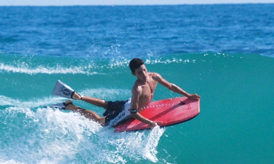 Bodyboarding Lesson In Newquay