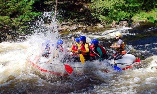 Guided White Water Rafting Trips In Newquay