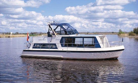 35' Safari 1050 Houseboat Rental In Ijlst, Netherlands