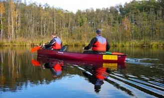 Double Canoe Rental in Mirow
