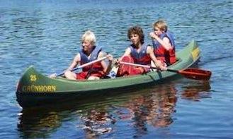 3 Seater Canoe Rental in Mirow