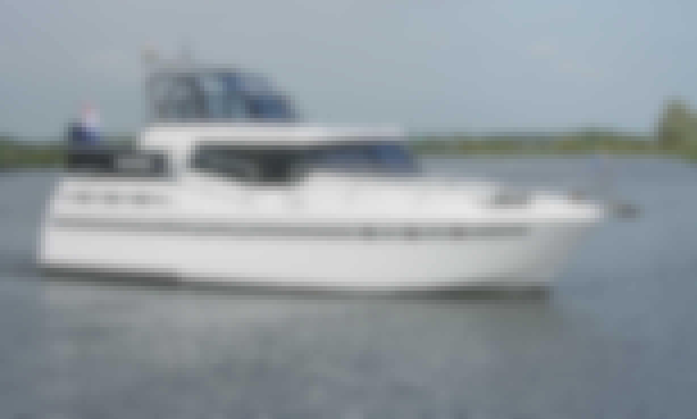 38' Tyvano 1150 Motor Yacht Charter in Drachten - Friesland, Netherlands