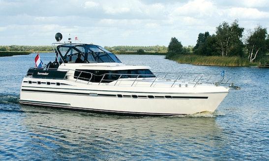 44' Tyvano 1340 Motor Yacht Charter In Ijlst, Netherlands