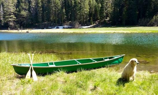 17″ Coleman Canoe Rental In Tahoe City