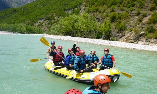 Enjoy Rafting Trips On River Arachthos, Ioannina
