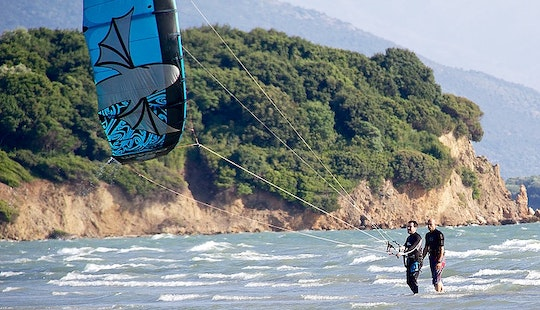Kiteboarding Lessons In Ioannina, Greece