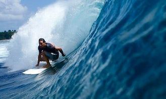 Surf Guiding in Kuta Selatan, Indonesia
