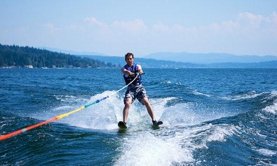 Water Skiing In Tenby