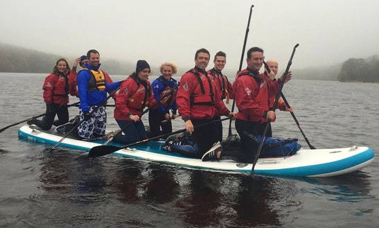 Giant Paddleboard Trips In Wales
