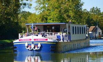 Explore Chatillon-sur-Loire, France on 128' Renaissance Canal Boat