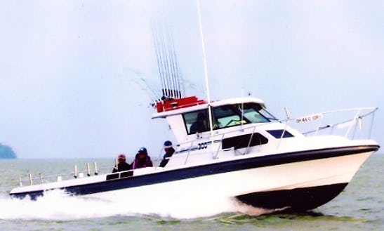 30ft Sport Craft Boat Fishing Charter In Port Clinton
