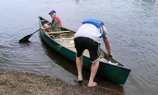 Canoeing Trips & Rental In Grantsburg, Wisconsin