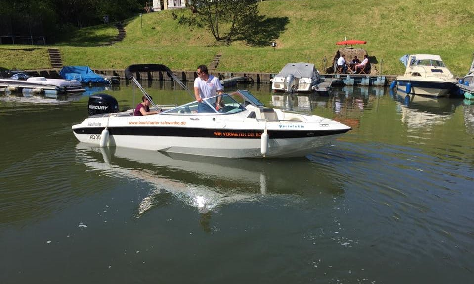 Self Drive Bowrider Hire in Koblenz, Germany for 8 Pax