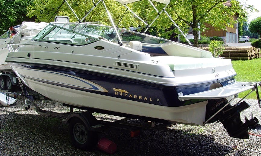 Rent 20' Chaparral Motor Yacht in Bad Endorf, Germany