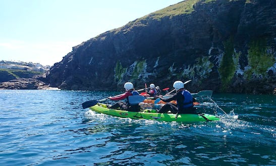 Double Sit-on-top Sea Kayak Tours In England