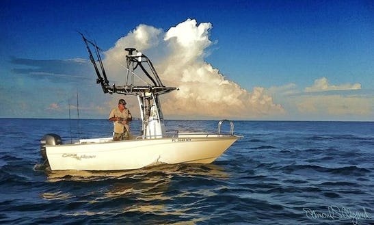 Enjoy Fishing In Santa Rosa Beach, Florida On 20' Center Console