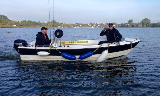 24ft Ingeburg Ps Dinghy Boat Rental In Berlin, Germany