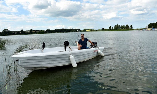 15ft Karin Ps Dinghy Boat Fishing Rental In Berlin, Germany