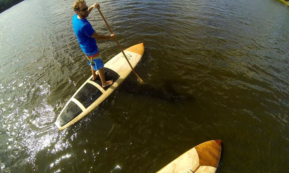 Stand Up Paddleboard Lessons in Koblenz