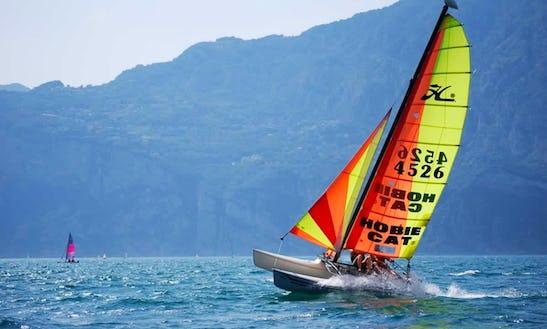 Hobie 15 Beach Catamaran Rental And Courses In Malcesine